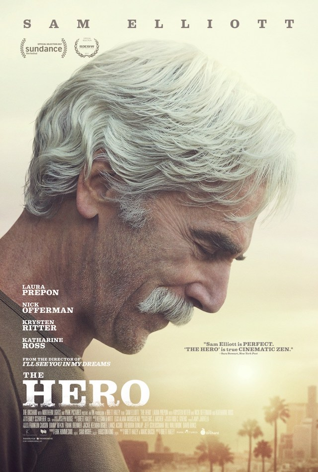 You can watch the  trailer for The Hero here .