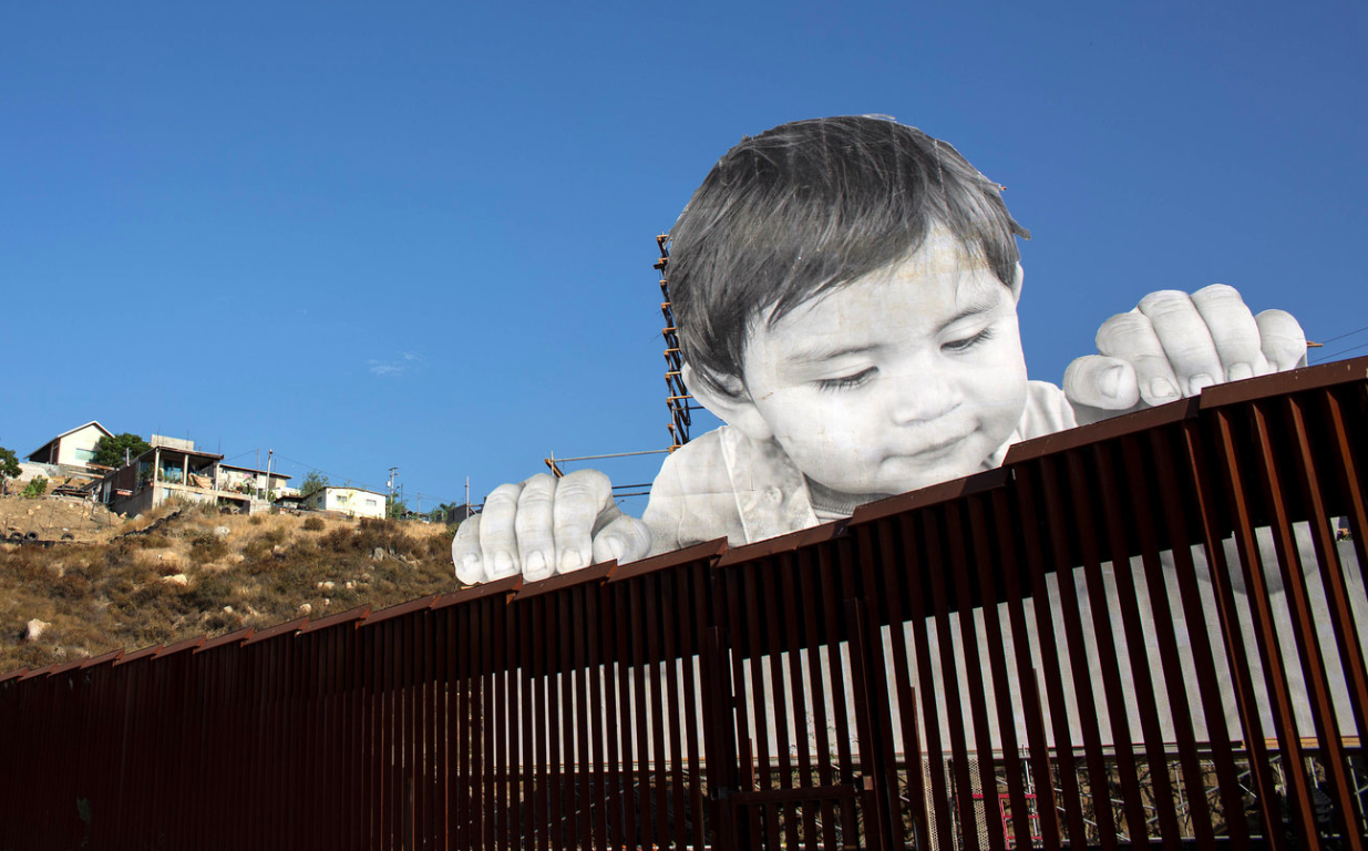 NPR interview with JR on his US/Mexico Border Wall piece