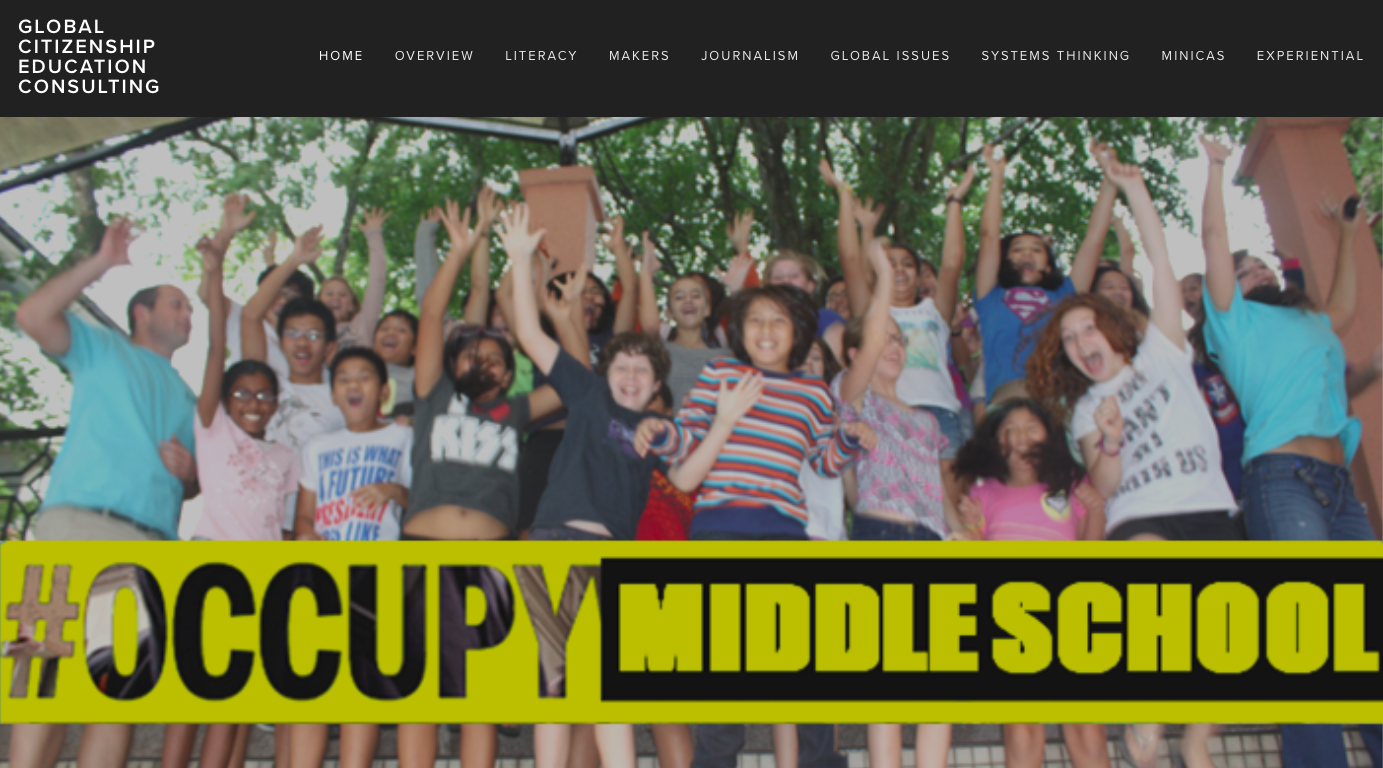 Occupy Middle School:   Empowering Diverse Learners, Research and Development Page