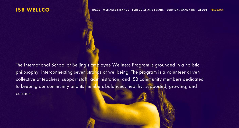 School-wide Wellness Program  Development