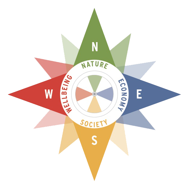 How do our choices affect the sustainability compass?