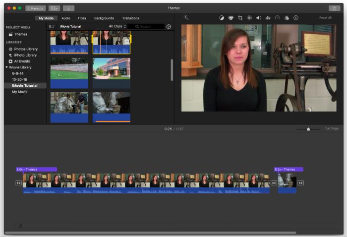 Penn State iMovie Basics Tutorial