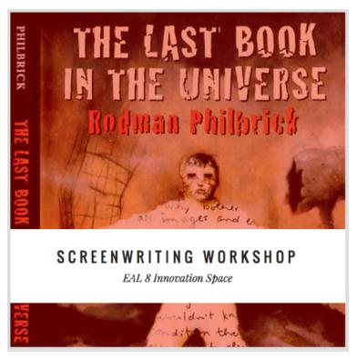 Screenwriting Teaching Resource
