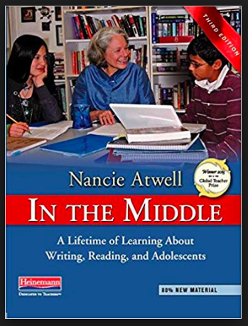 """Nancie Atwell  is one of the most respected educators in the U.S. and across the world. Winner of the Varkey Foundation's inaugural Global teacher Prize, she donated the $1 million award to the Center for Teaching and Learning, the K-8 demonstration school she founded in Edgecomb, Maine, in 1990. Thomas Newkirk calls In the Middle """"the greatest book on literacy teaching ever written in this country."""""""
