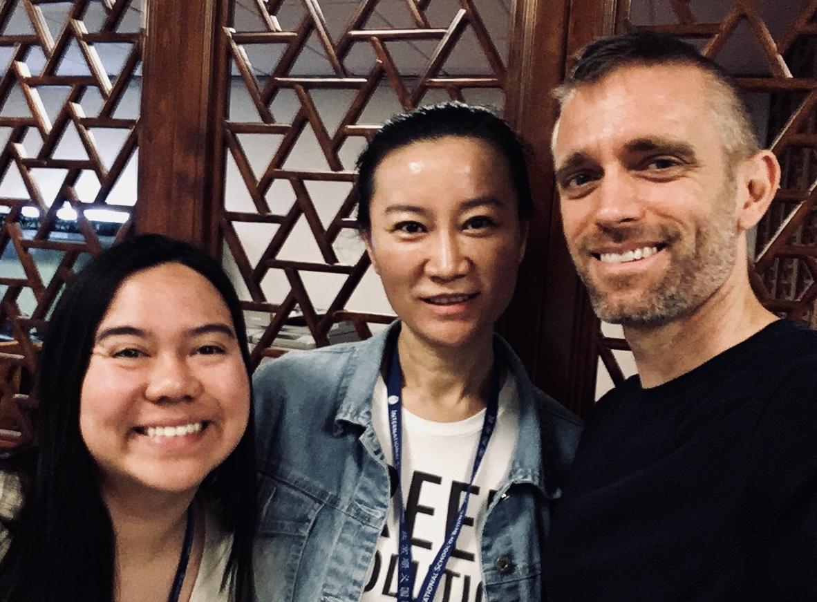 ESEE mentors:  Angeline Reyes, Fiona Yu-Jia, Steve Sostak