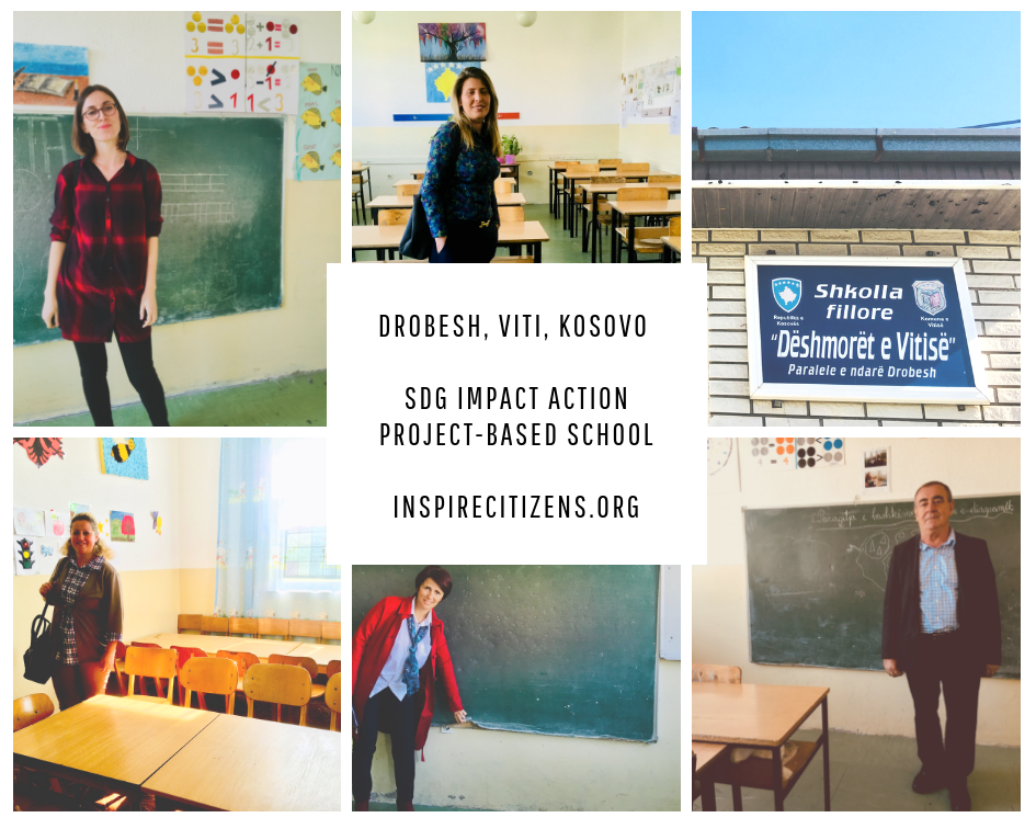 Viti & American School of Kosova Projects - Inspire Citizens supports educators in Kosovo to collaborate on financial and pedagogical goals in equal education, global citizenship, and professional learning in developing nations.Projects such as:PhotoVoice KosovoSpeak Up KosovoIntegrated Arts for SDGs and Global CompetenceLearning Together Summit 2019 (#LearningKosovo)Follow these teachers and change makers on twitter as they lead these important project:Ujkane Hana Beshiri: @Ujkane1Abetare Bejta: @AbetareBejtaAlbana Syla: @AlbanaSyla2Dea Grajqevci: @DeaGrajqevci