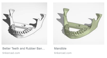 Use of TinkerCad for modeling