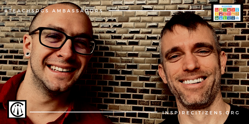 Aaron Moniz and Steve Sostak  are the co-directors of Inspire Citizens and Global Youth Media focusing on the power of student agency and voice in positive and honest reporting and storytelling.