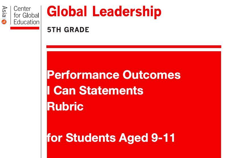 Asia Society: Global Leadership Rubrics