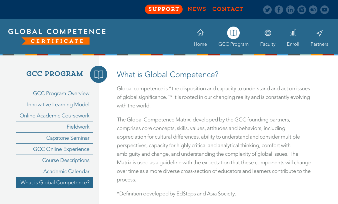 Global Competence Certificate
