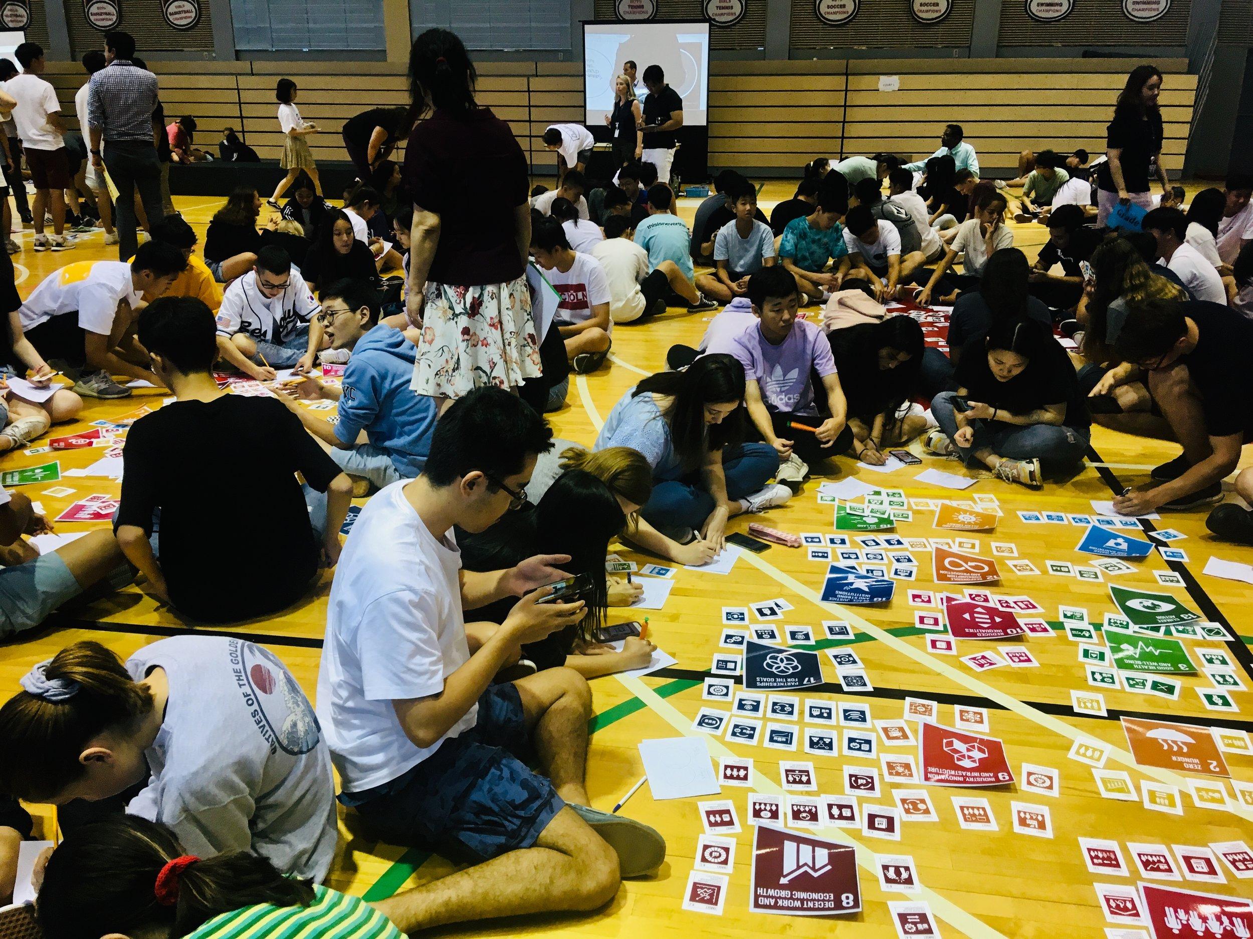 SDG target cards