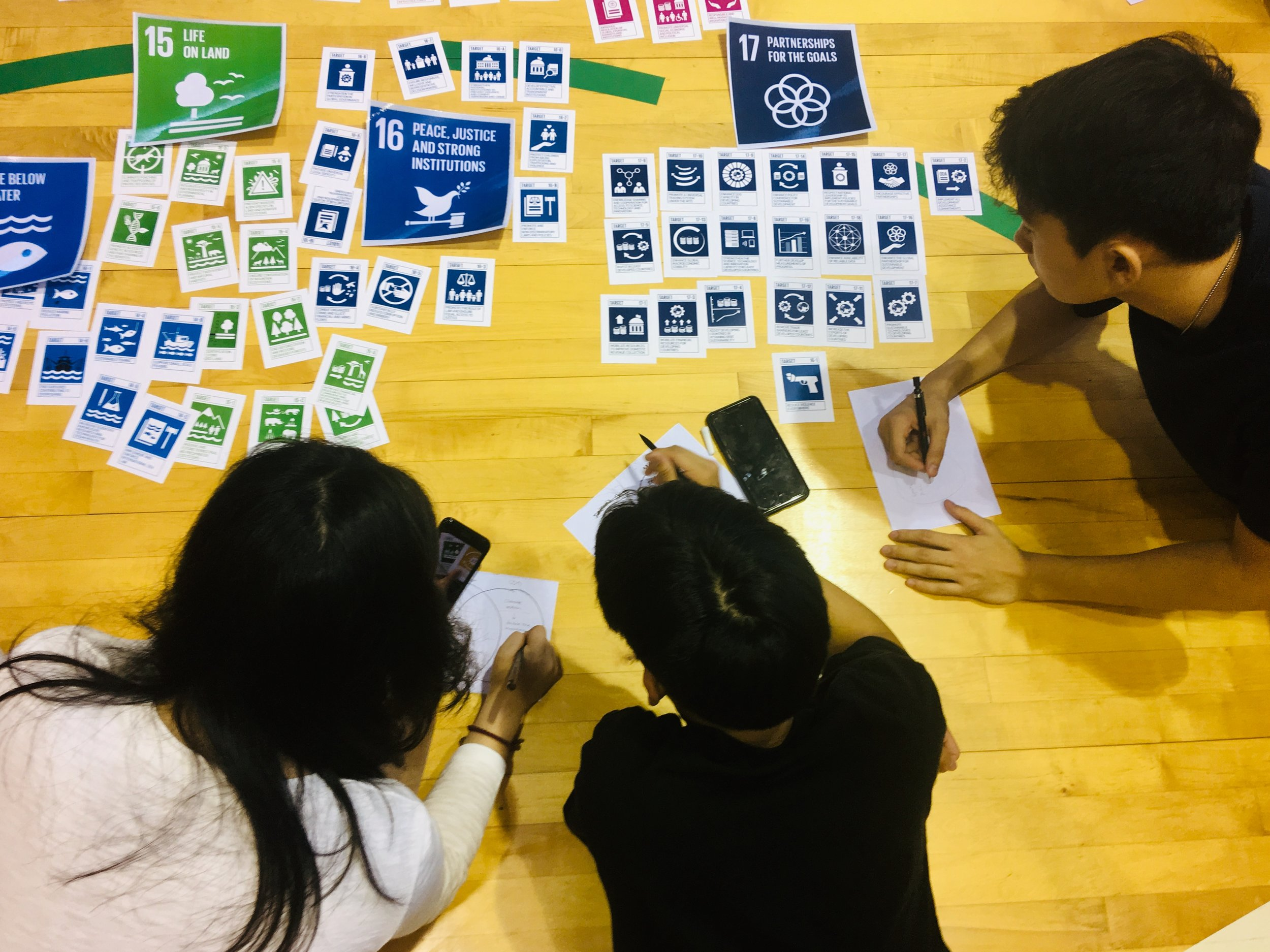 UN SDG Target s can be great for pinpointing community engagement and impact on a DW trip