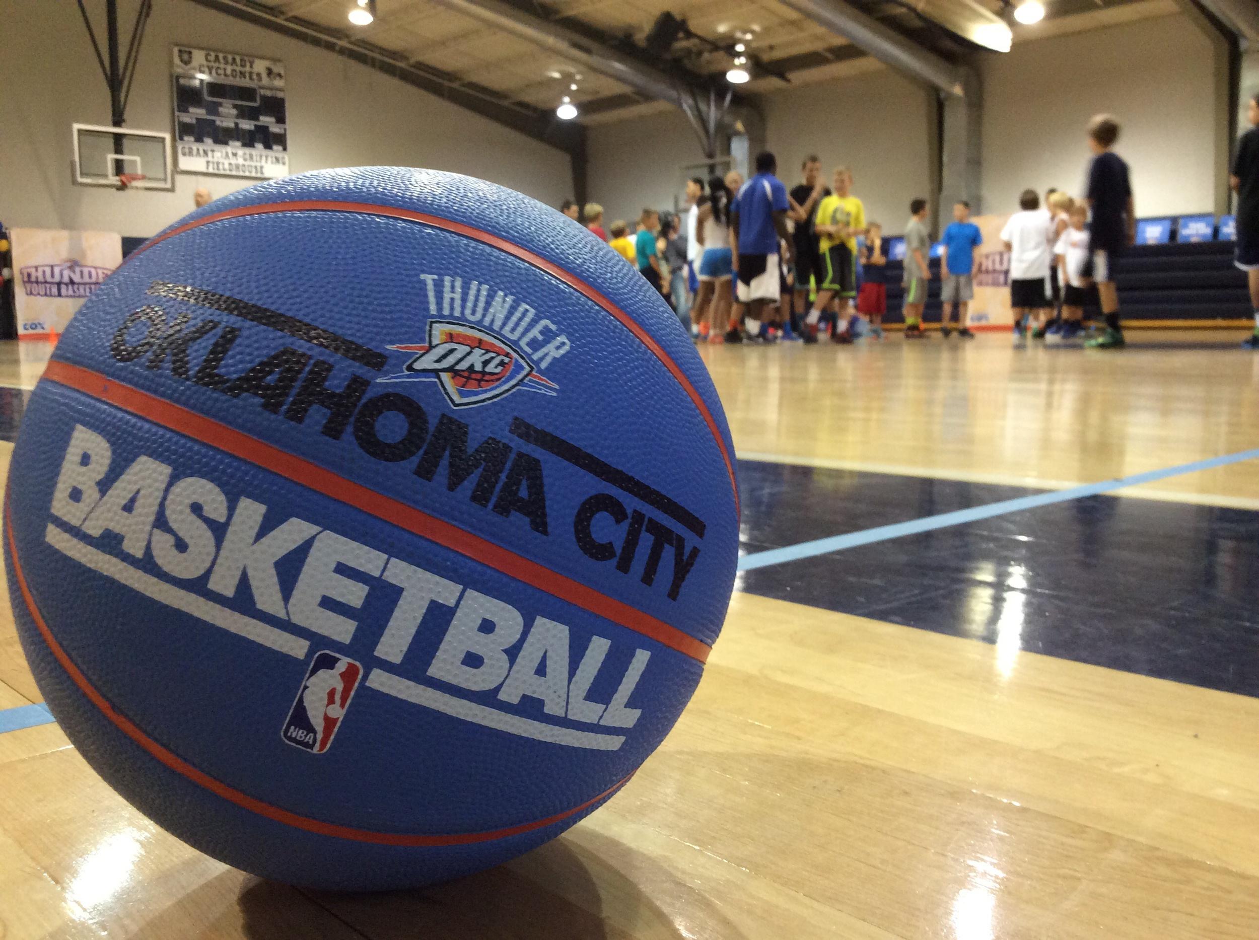 Thunder Youth Basketball Camp at OKC's Casady School. Photo by Randy Renner for InsideThunder.com