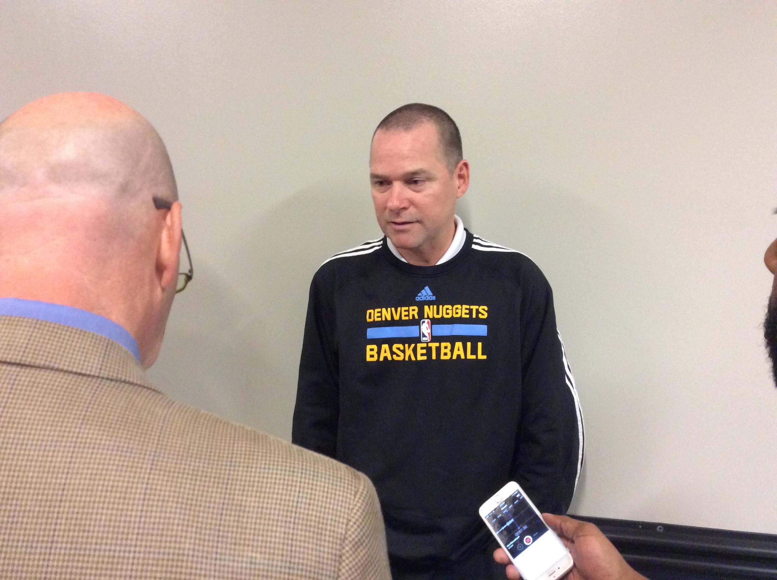 Coach Michael Malone - Photo by Randy Renner