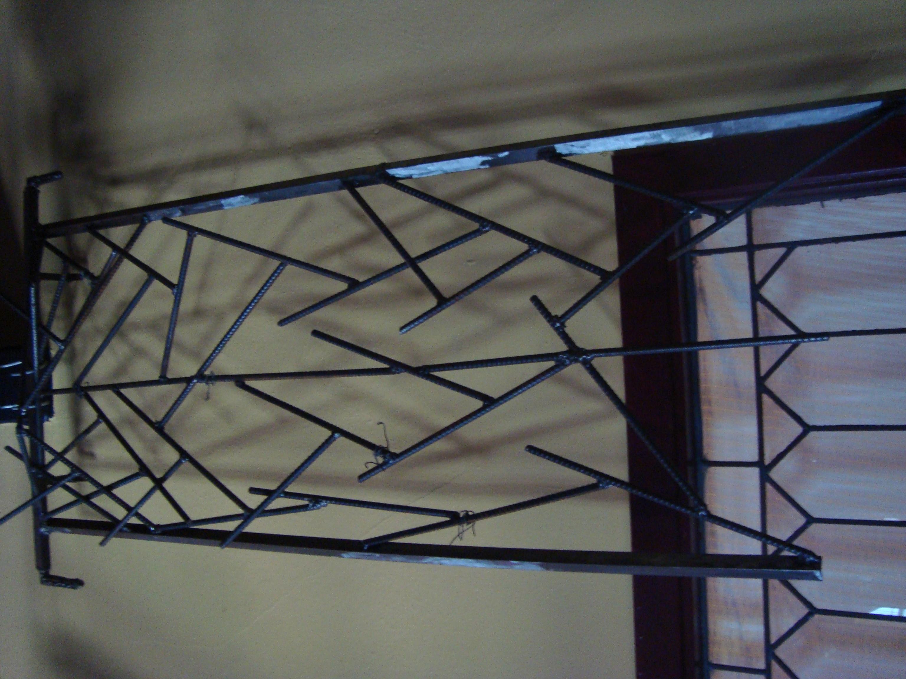 Trellis For Broken Window