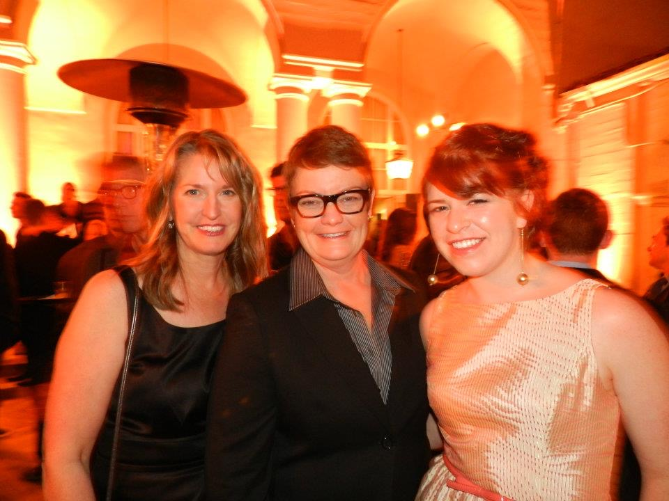 With Prop 8 plaintiffs Kris Perry and Sandy Stier