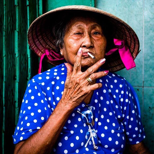 Oh the characters you meet in the alleys of Saigon… Somewhere in D4 last week on a photo tour with @saigonphototours and @agausdo  #vietnam #saigon #hochiminhcity #hcmc #district4 #alley #woman #smoking #vietnamcharm #discovervietnam #bestplacestogo  #cityview  #travelphotographer #traveldeeper #letsgosomewhere  #moodygrams  #passionpassport #ourplanetdaily #portraitphotography #portraitperfection #portraitoftheday #makeportraits #pursuitofportraits #discoverportrait #portrait_perfection #sonya7riii #sonyalpha #sonyimage @sonyalpha @sonyvietnam