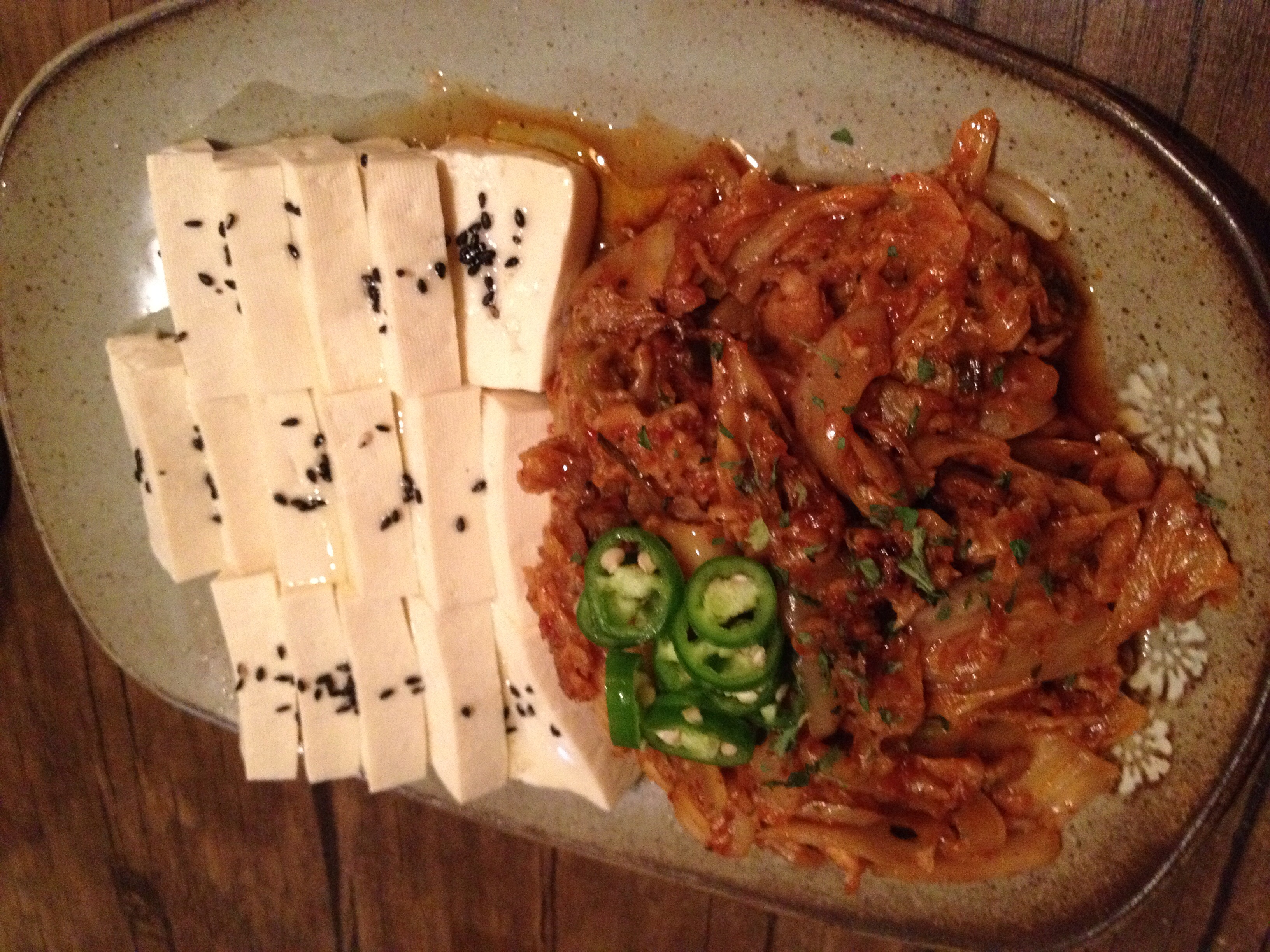 Beautiful. It was good here, but my favourite place for this dish is still at 마폴나(Mapo Naru) in Acro Tower, B1.