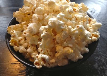 I borrowed this picture of popcorn from another site, but I had to give a shout out to it. It is the BEST popcorn I've had in Korea! It's salty and a bit vinegary, and the servers said they actually spray a Worcestershire sauce on it. It is so addictive...and it's free like peanuts or pretzels would be in a bar in the states.