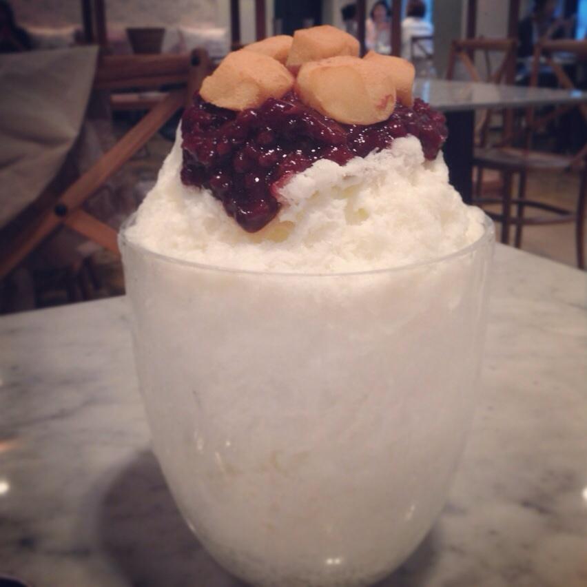 Milk Bingsoo @Paris Croissant in Hannamdong