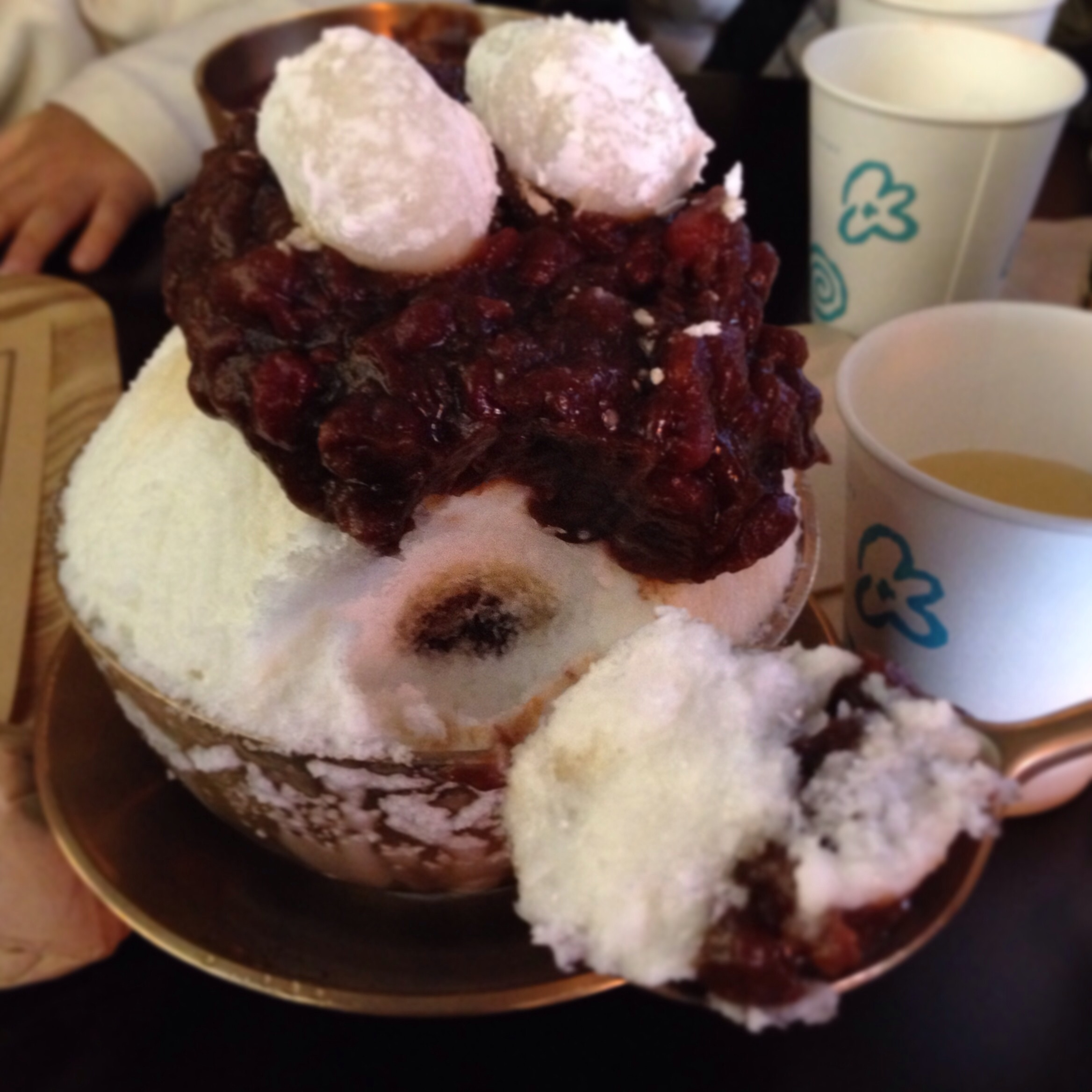 Patbingsoo @  OkRooMong (옥루몽)    Locations are all over Seoul. I usually go to the Sinsa or Gangnam location: 서울 강남구 역삼1동.   Yeoksam 1(il)-dong