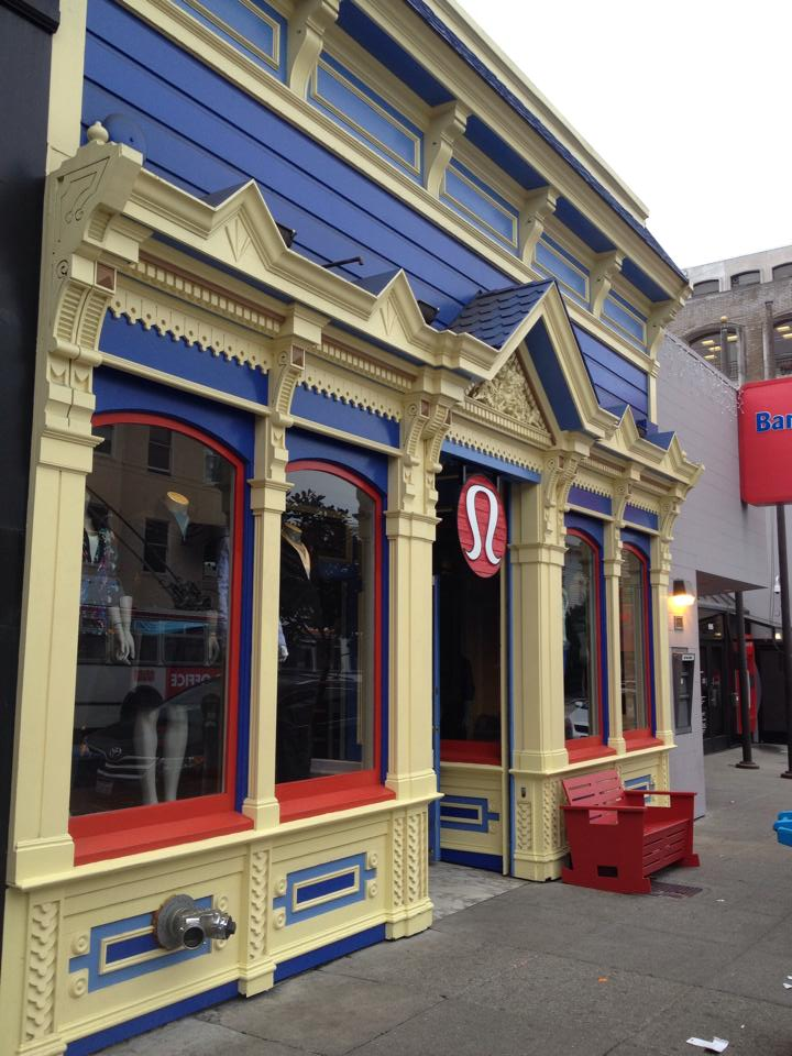 San Fransicso - Cow Hollow  http://www.lululemon.com/sanfrancisco/cowhollow?sli=1  1981 Union Street  San Francisco, CA United States 94123   415-776-5858   cowhollow-store@lululemon.com