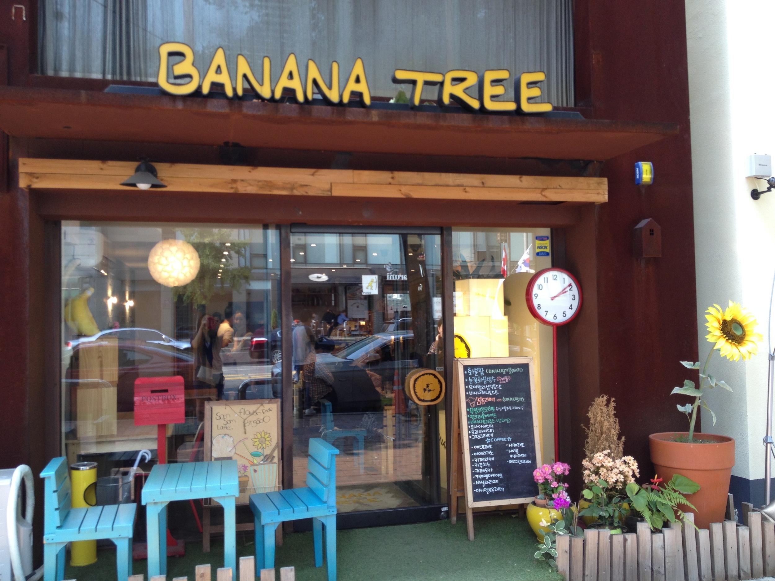 Banana Tree by day...