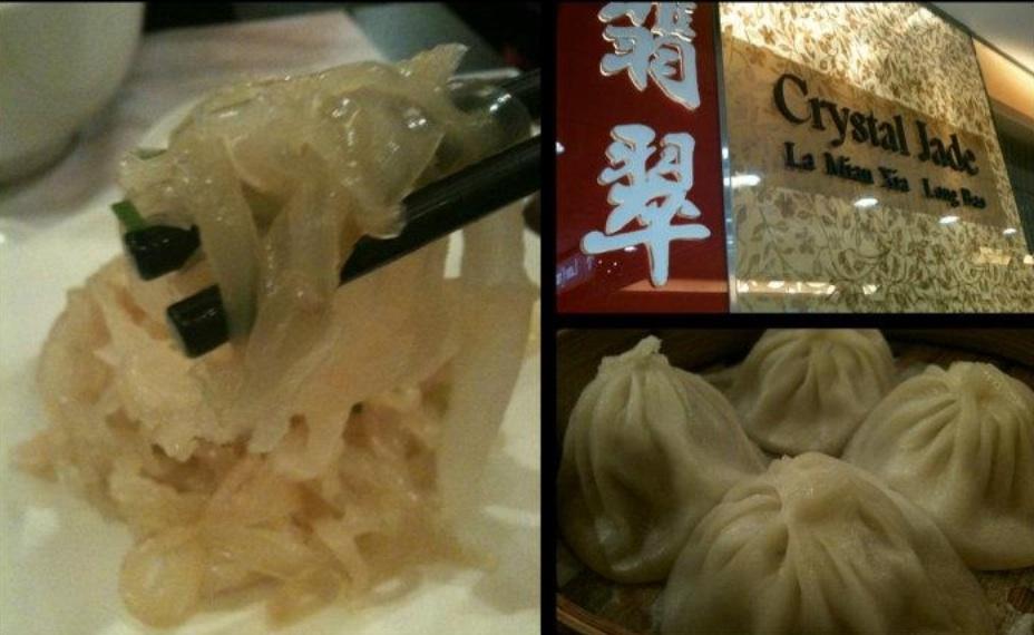 My 3 favourite appetizers - Cold Jellyfish, Xio Long Bao (Pork Soup Dumplings)