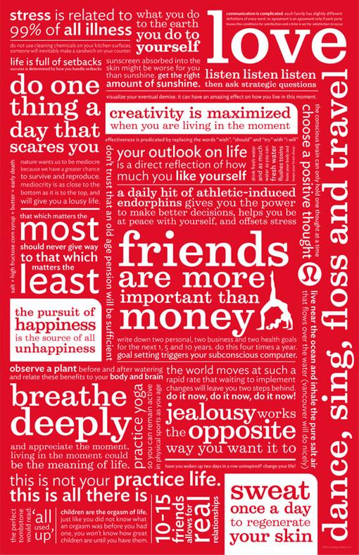 lululemon manifesto...love them all!