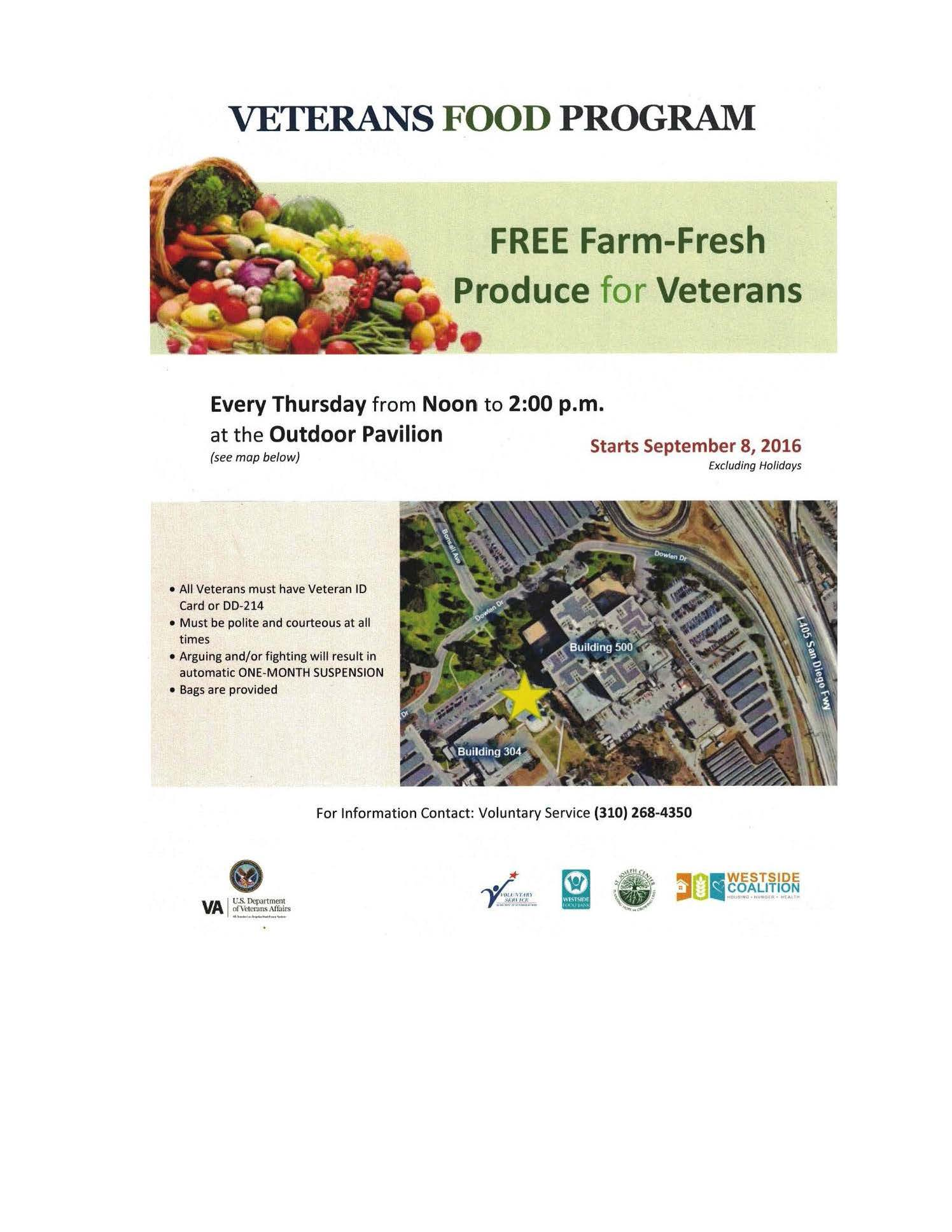 Veterans Food Program