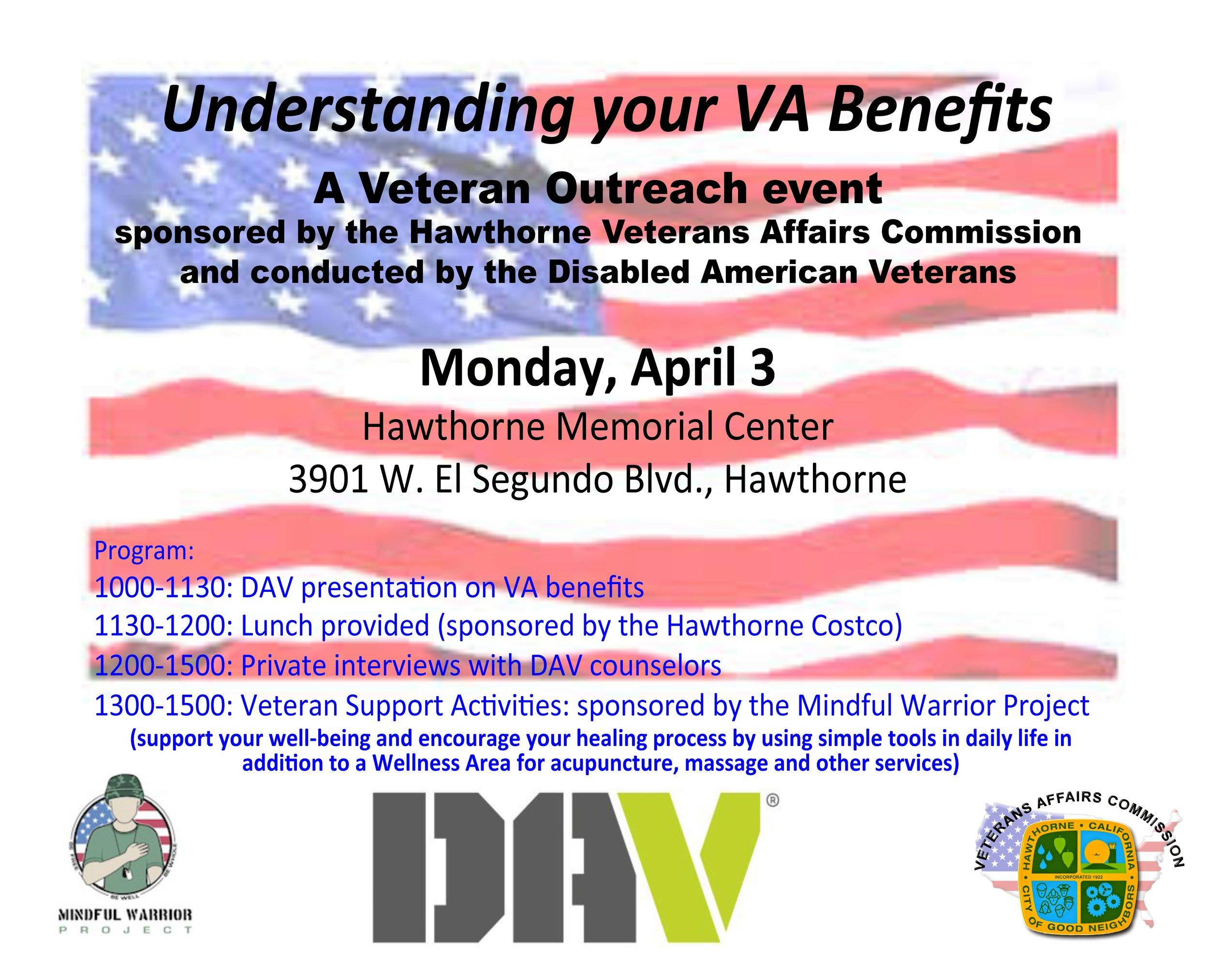 Understanding Your VA Benefits Event