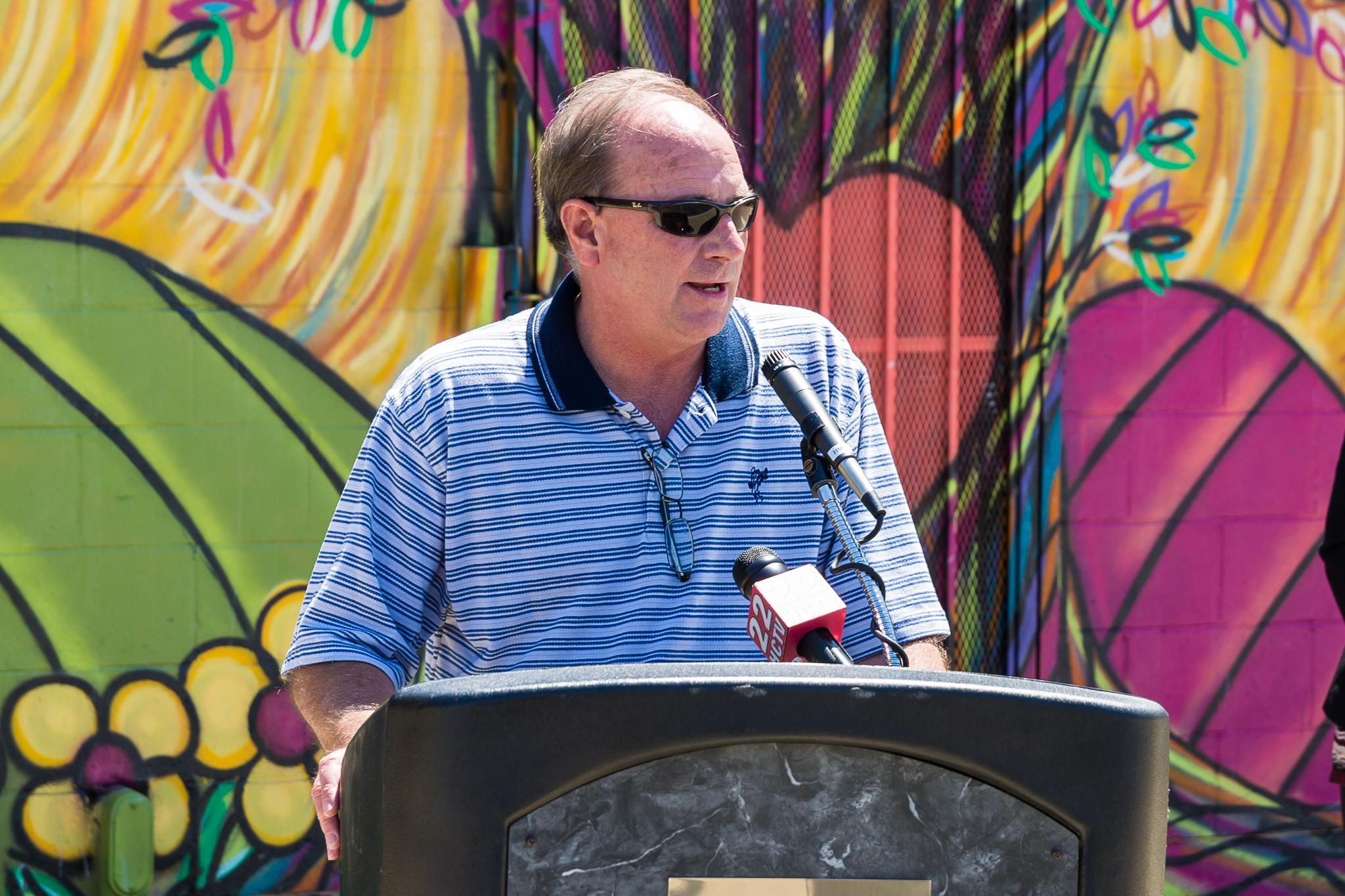 Parks Director Mark Hardison