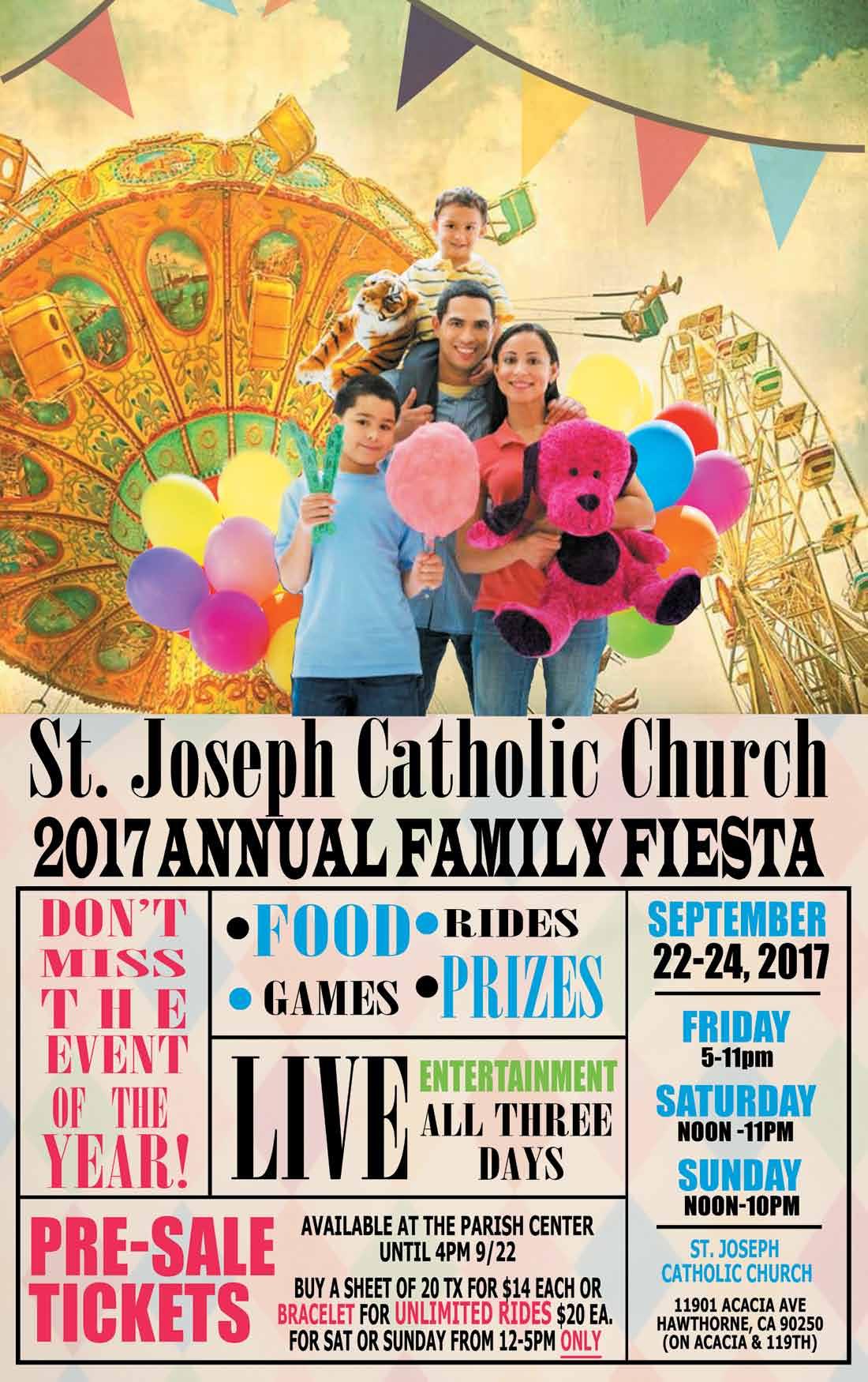 St Joseph Family Fiesta - page 1
