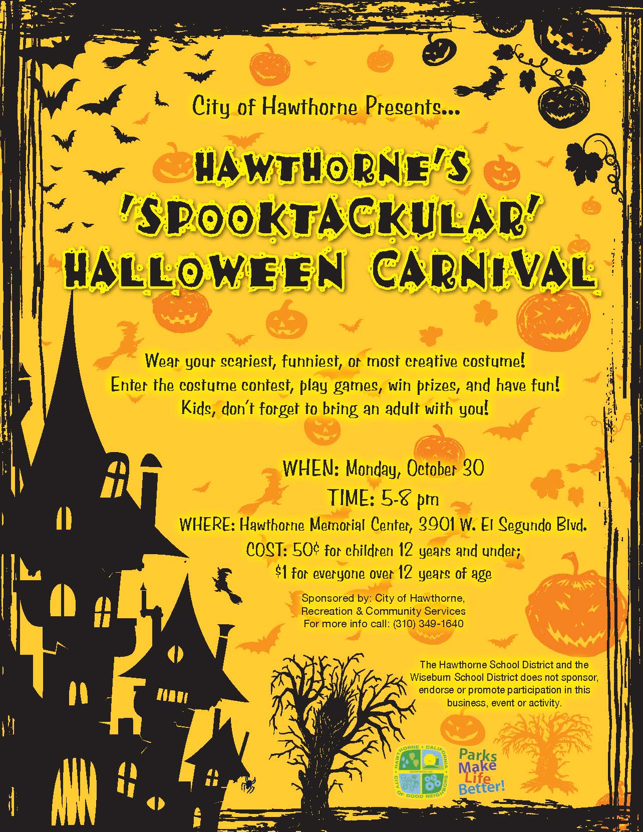 Halloween Carnival - English