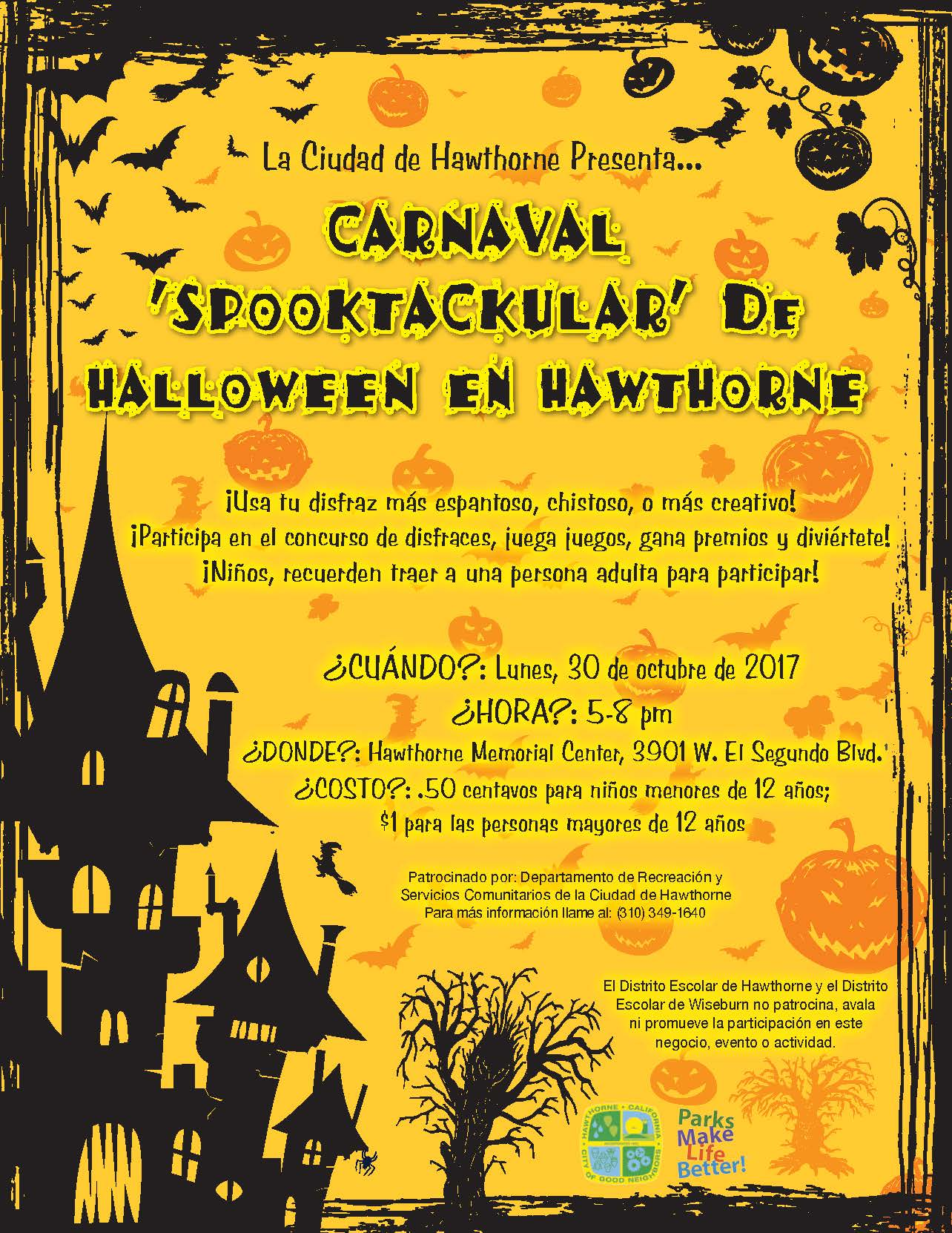 Halloween Carnival - Spanish