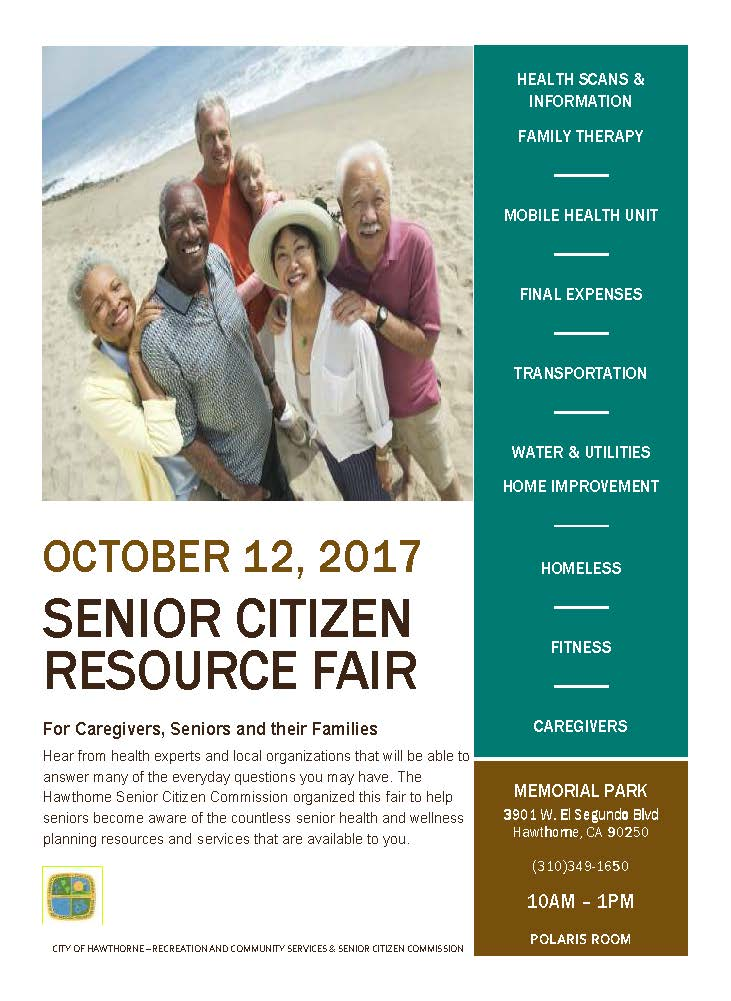 Senior Citizen Resource Fair - English