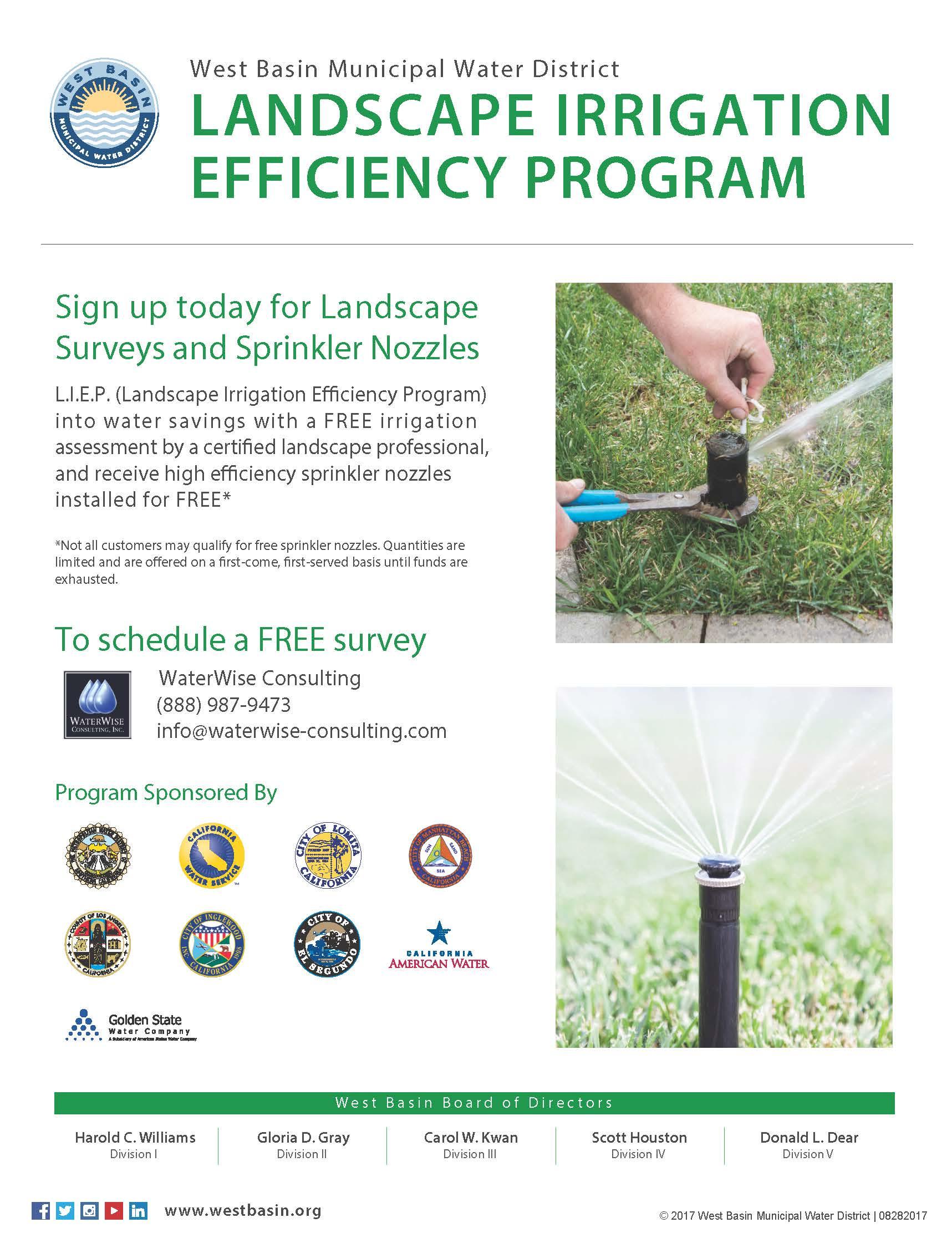Landscape Irrigation Efficiency Program