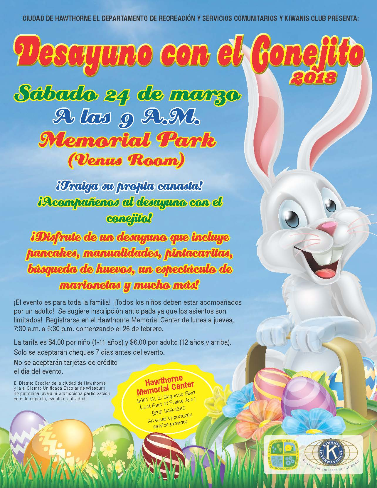 Bunny Breakfast 2018 - Spanish