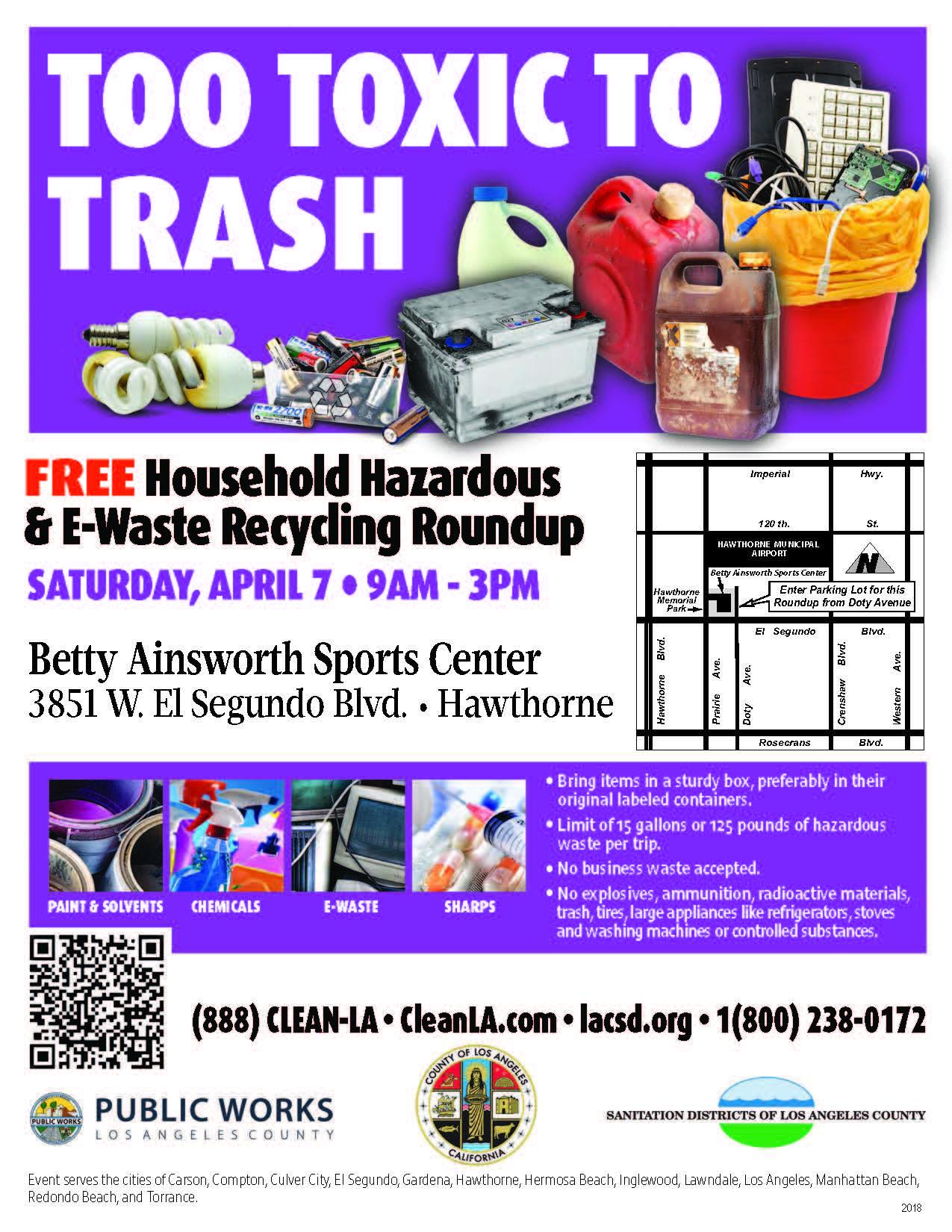 Hazardous & E-Waste Recycling Roundup