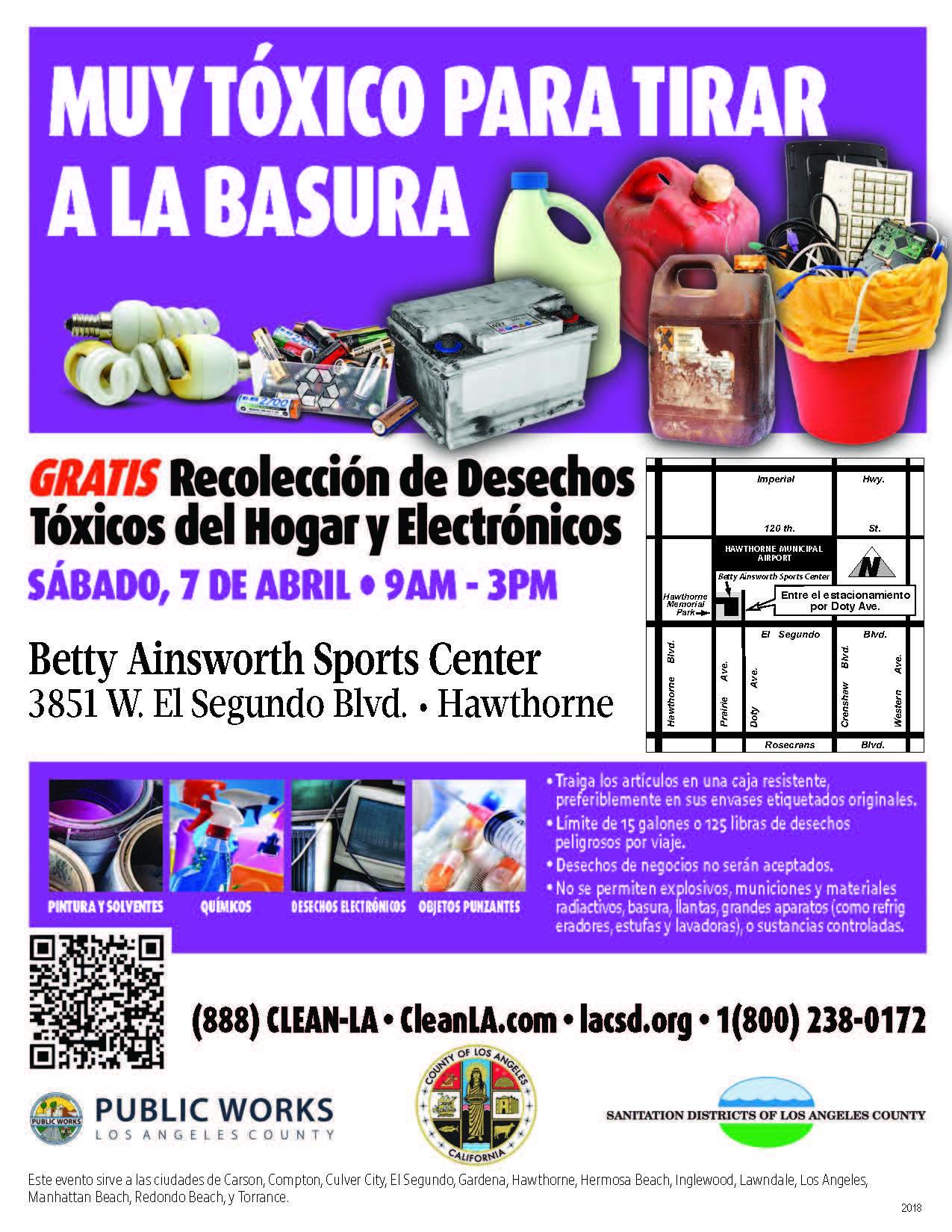 Household Hazardous & E-Waste Recycling Roundup (Spanish)