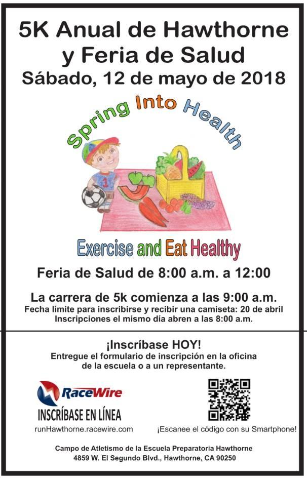 5K & Health Fair - Spanish