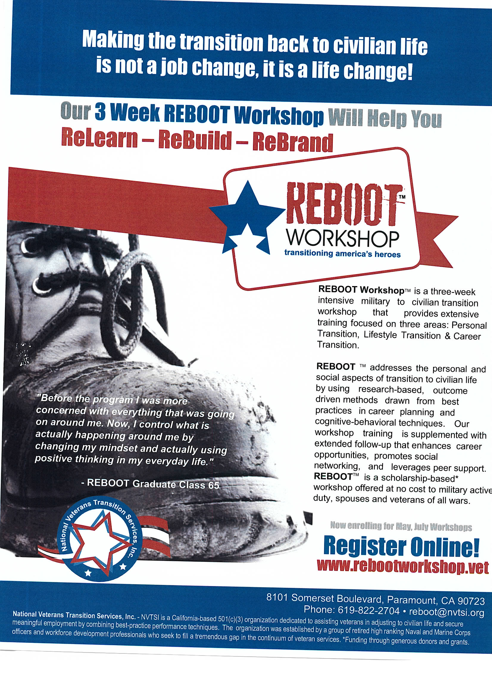 Reboot Workshop