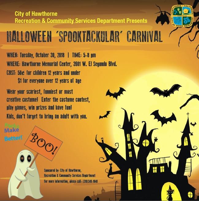 Halloween Spooktacular Carnival