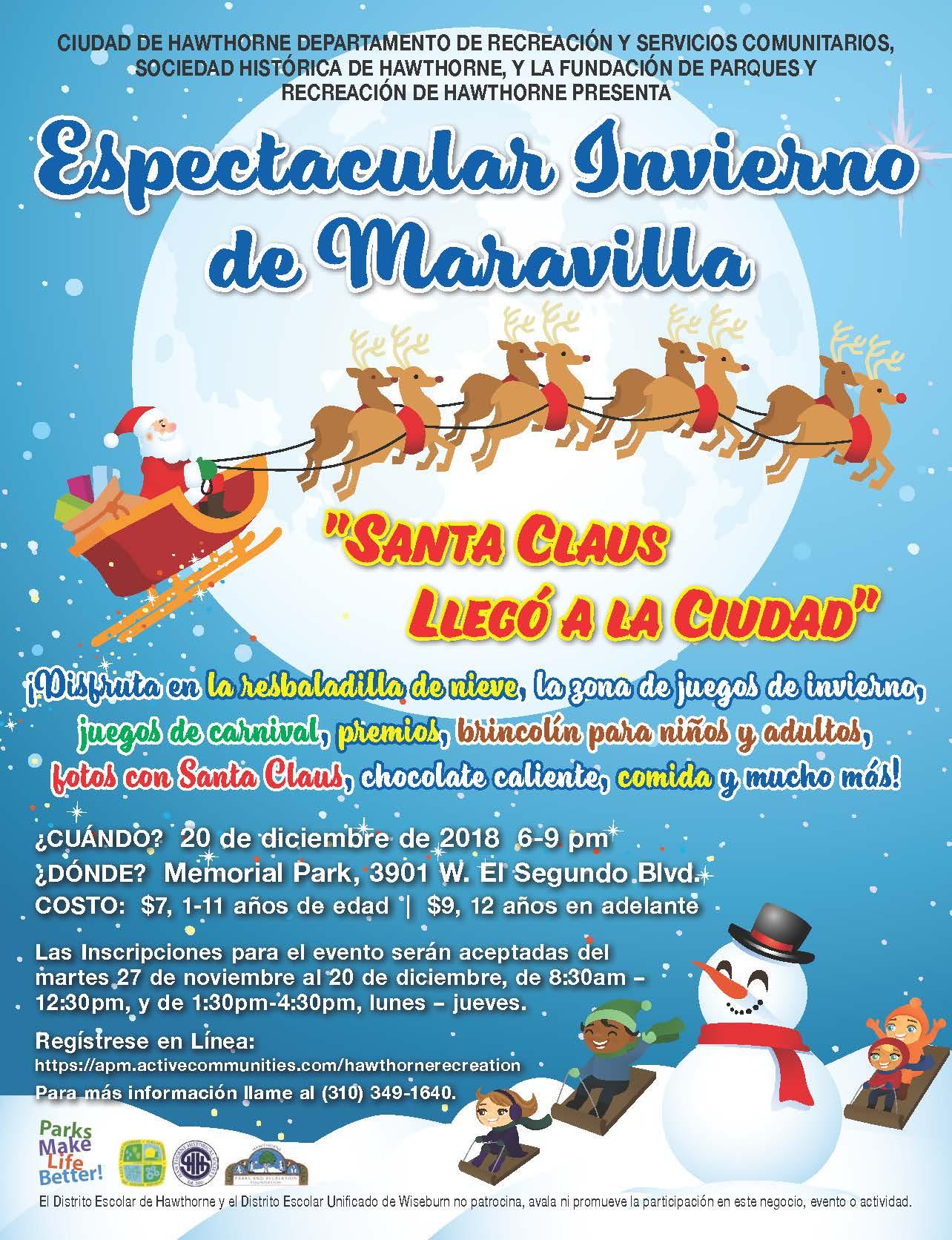 Winter Wonderland Spectacular - Spanish