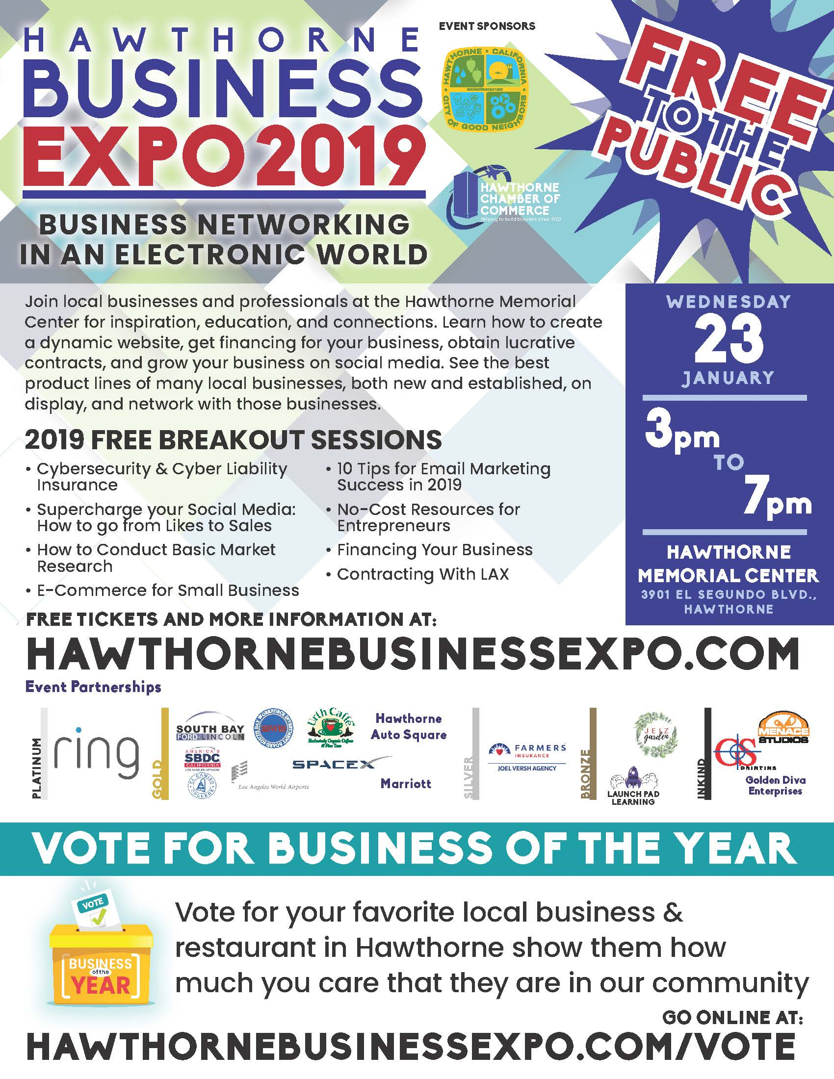Hawthorne Business Expo 2019