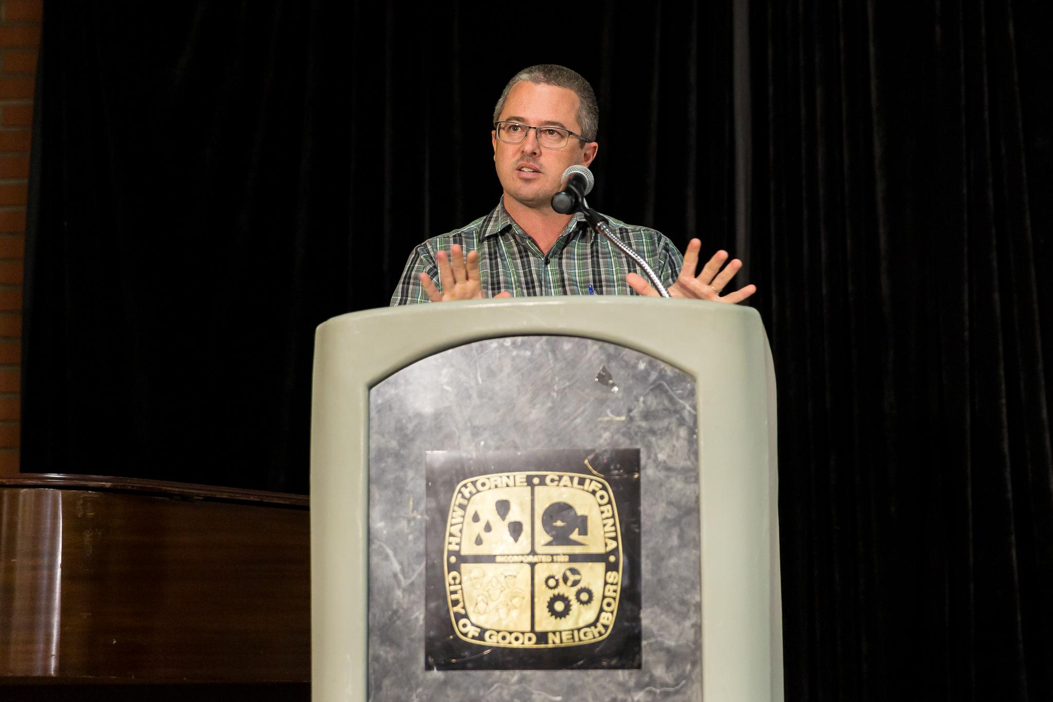 Speaker Doug Krauss