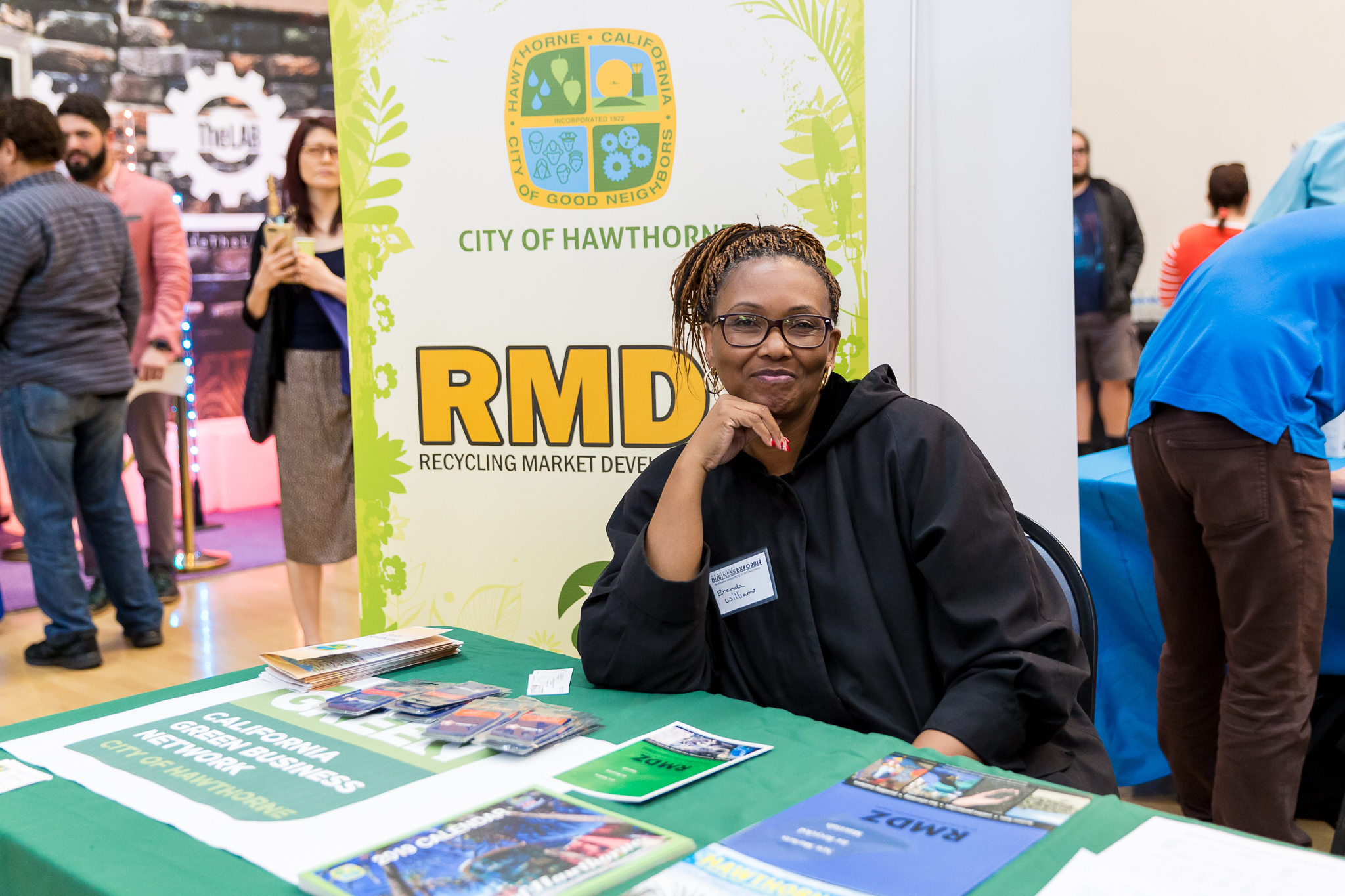 Brenda Williams RMD booth