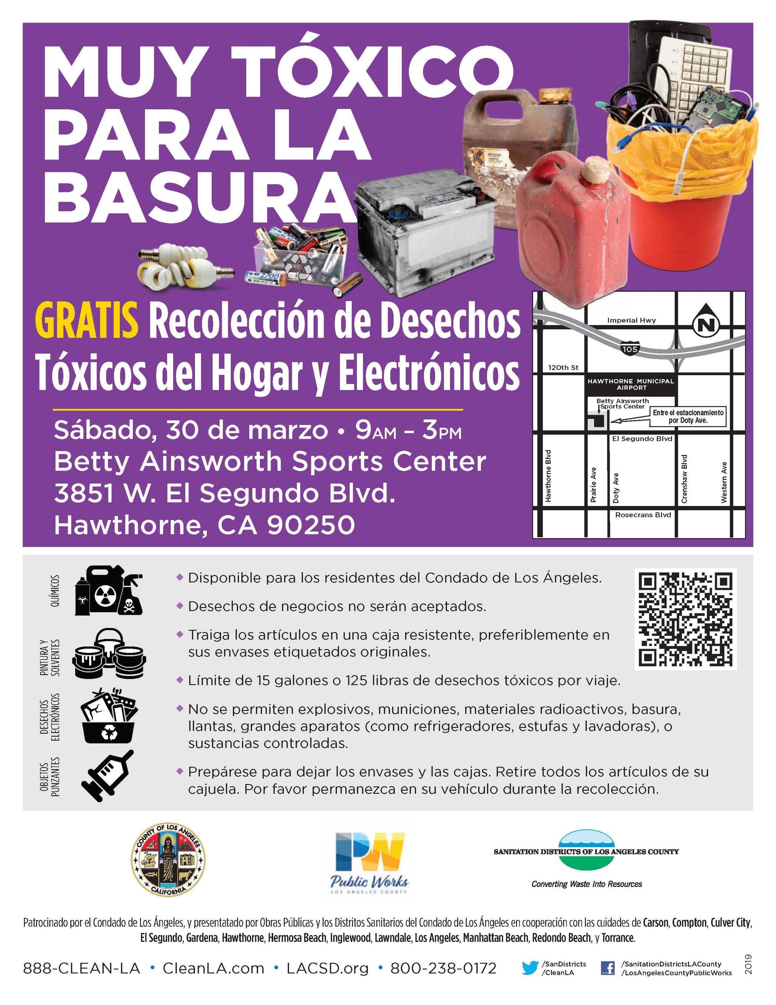 Household Hazardous & Electronic Waste Recycling Roundup - Spanish