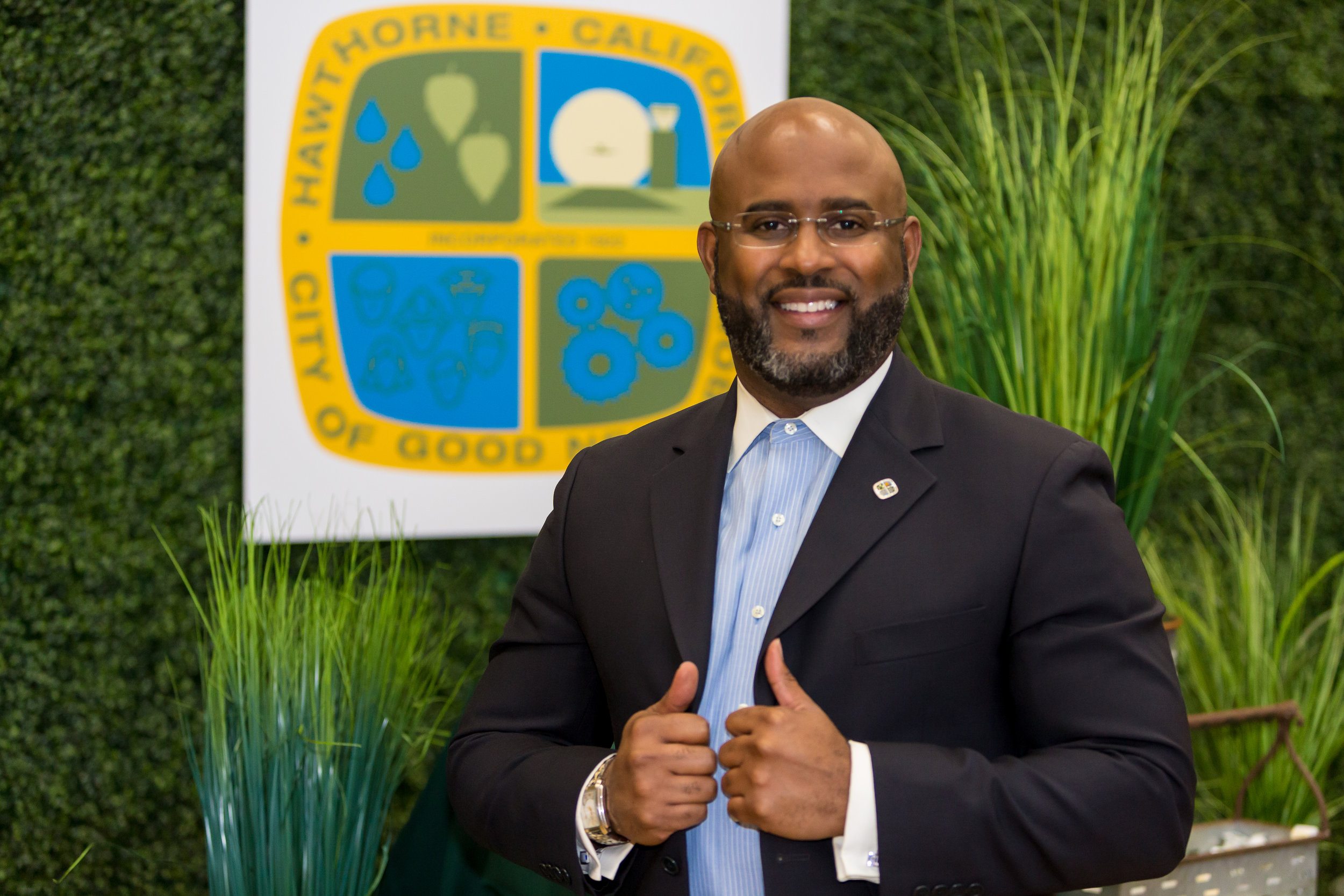 City Treasurer L. David Patterson