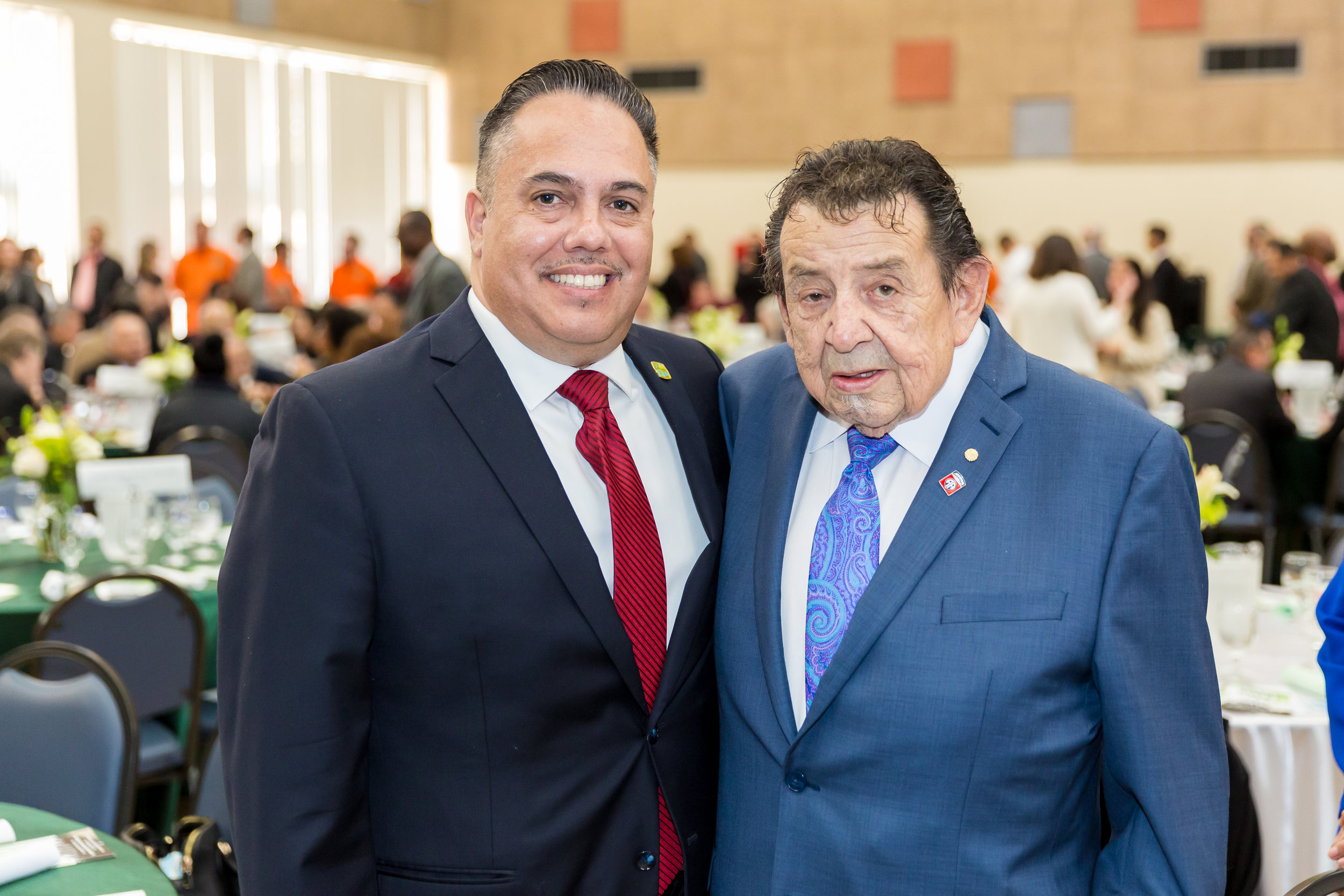 Mayor Vargas and Guest